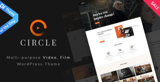 Filmmaker Circle - Multipurpose Film maker & Video WordPress theme
