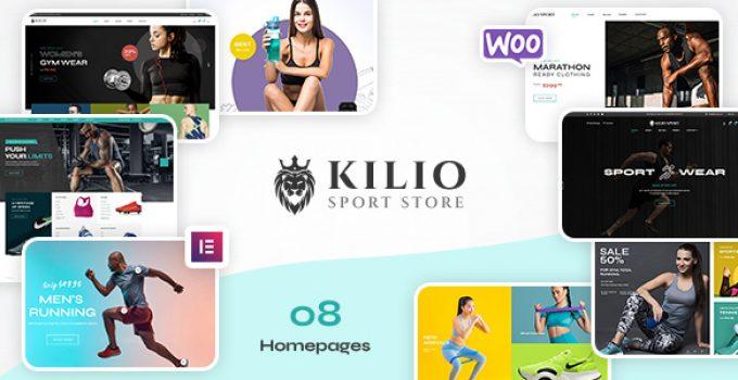 Kilio - Sport Shop WooCommerce WordPress Theme