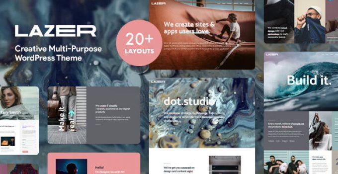Lazer - Creative Multi-Purpose WordPress Theme