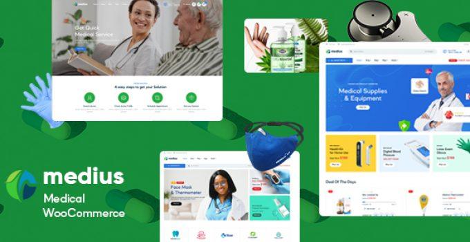 Medius – Medical & Health WooCommerce Theme