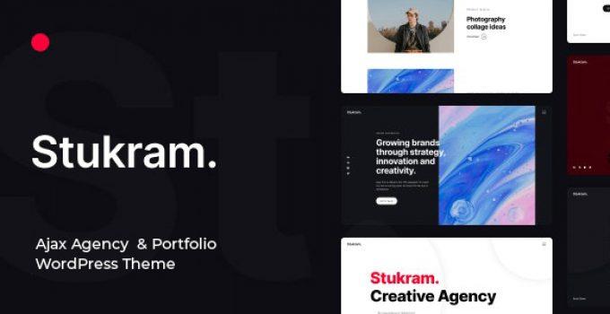 Stukram - Portfolio WordPress Theme