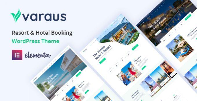 Varaus - Hotel Booking WordPress Theme