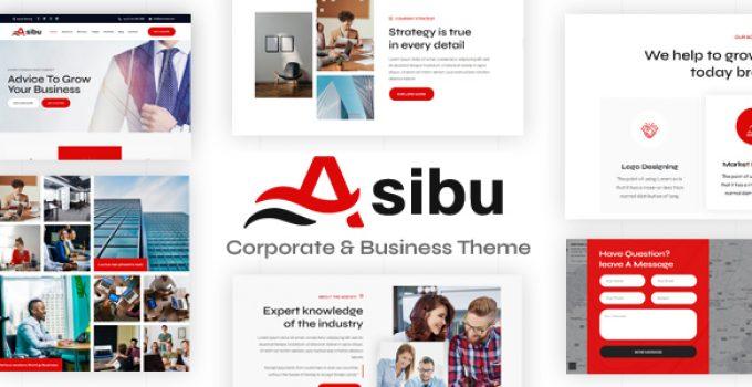 Asibu - Business WordPress Multi-Purpose