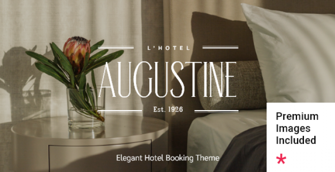 Augustine - Hotel Booking Theme