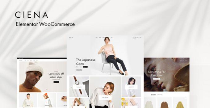 Ciena - Fashion WooCommerce WordPress Theme