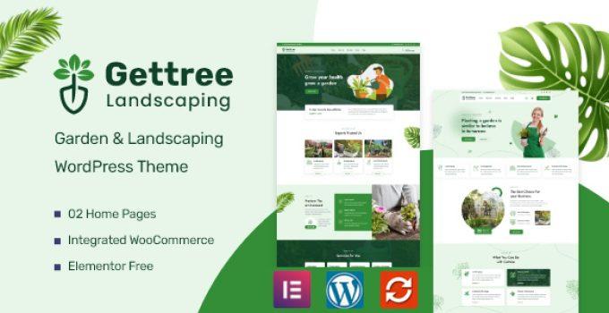 Gettree – Garden & Landscaping WordPress Theme