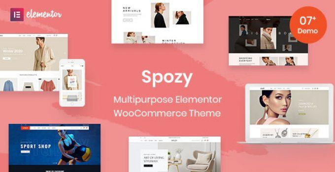Spozy - Multipurpose WooCommerce Theme