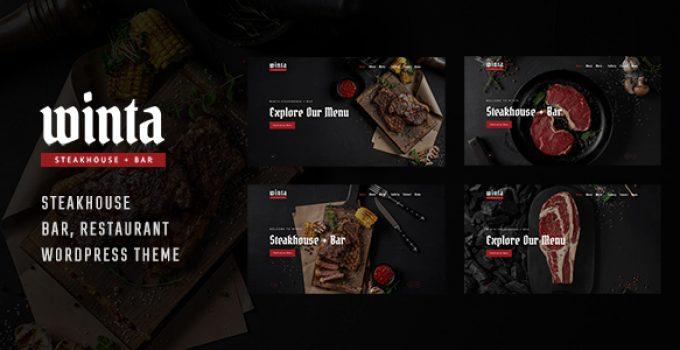 Winta - Steakhouse Restaurant WordPress Theme